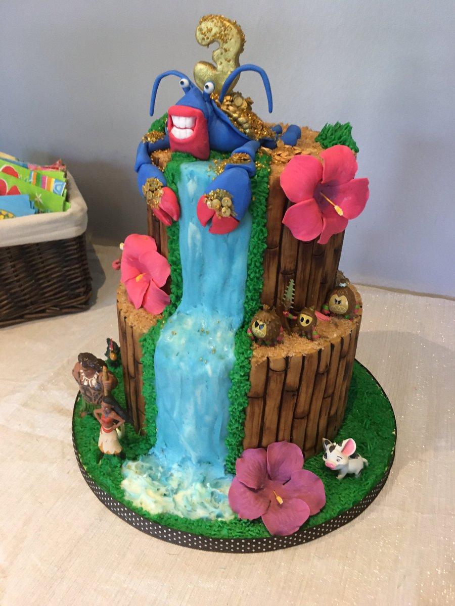 Courtney On Twitter My Littles 3rd Bday Cake Moana Moanacake Tamatoa