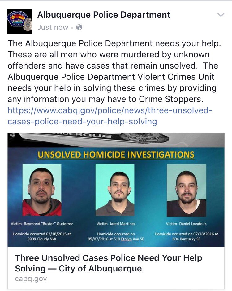Albuquerque Police on Twitter: