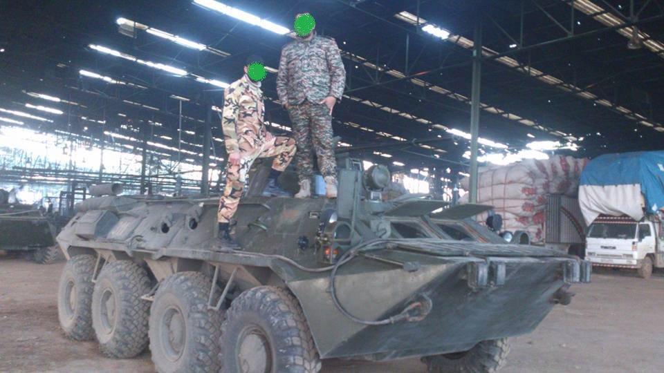 مدرعات BTR-82A الروسيه ودورها في الحرب الاهليه السوريه  C6fGfU9WYAAIb_S