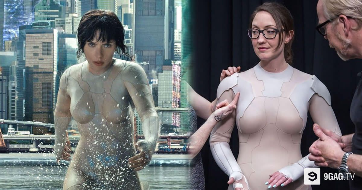 9gag Tv On Twitter How Scarlett Johansson S Thermotic Suit From Ghost In The Shell Is Made Https T Co Pjcskjzecx