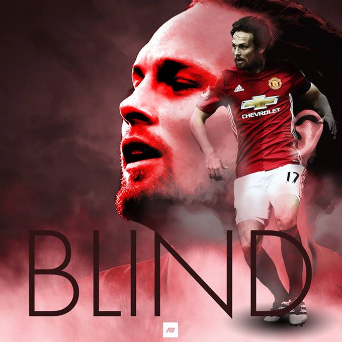 Happy birthday to Manchester United\s Daley Blind, 27 today!