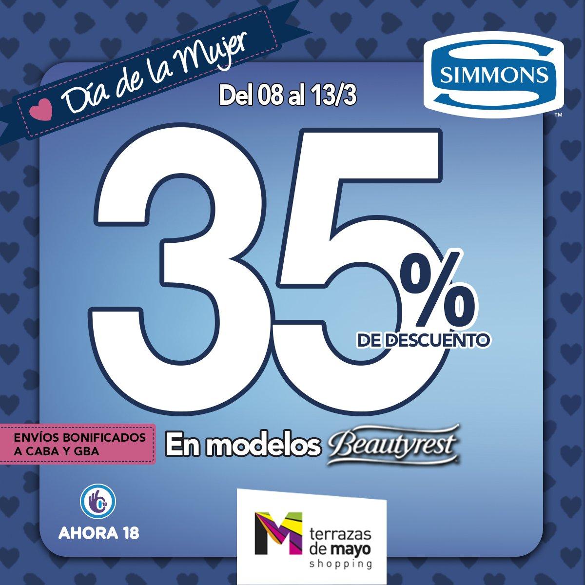 Terrazas De Mayo On Twitter En Simmons Argentina