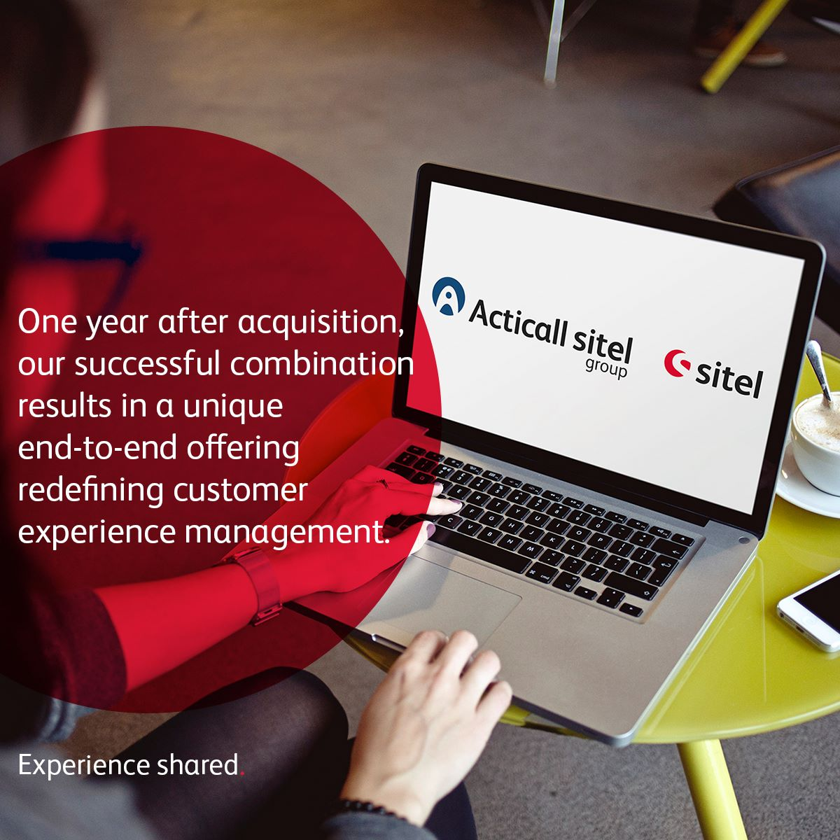 Acticall Sitel Group: a Successful Combination, One Year After Acquisition... Find out why @ https://goo.gl/ceeoYq    #WhySitel