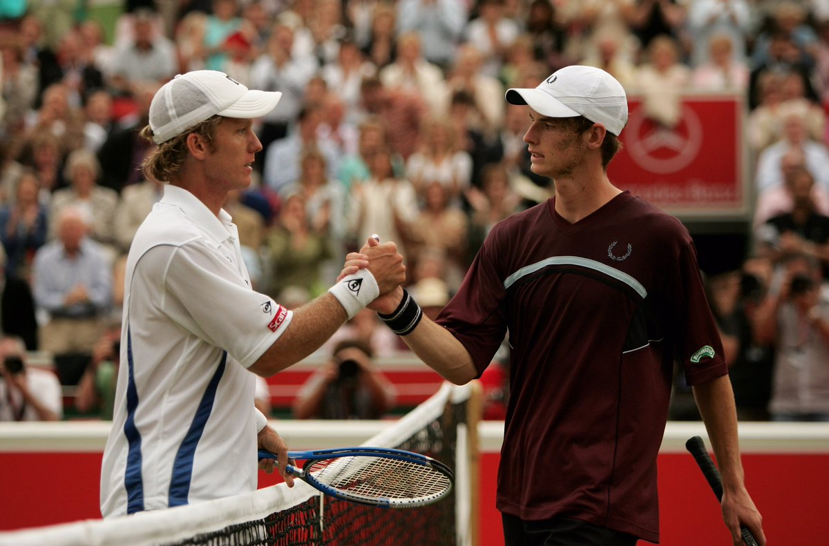 Andy murray twitter - 2005 Thomas Johansson Won Their Match But A New Star Was Born Tbtpic Twitter Com 2ttlguy7pt Thomas Johansson Andy Murray