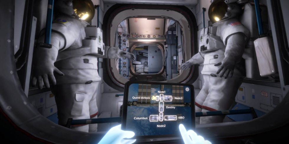 Visit the ISS in NASA's new game for the Oculus Rift https://t.co/ecbIkizQTh