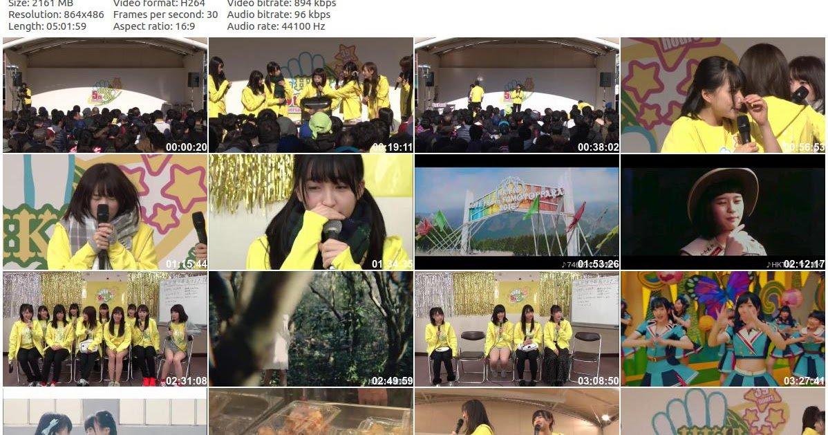 Download HKT48 5th Anniversary Concert Tenjin Core Okujou Tokusetsukaijou Stage