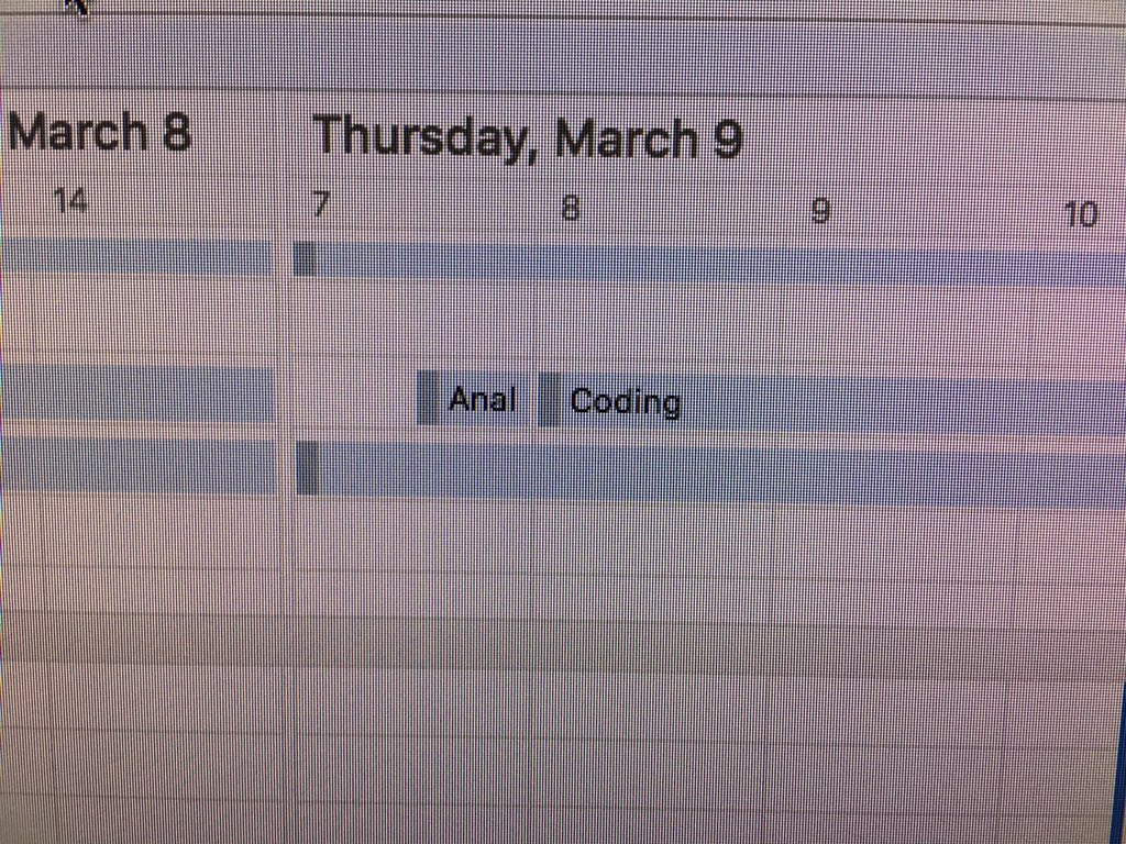 @phylogenomics hmmm. My Outlook calendar might shed some light on that. https://t.co/6qf73p0ES5