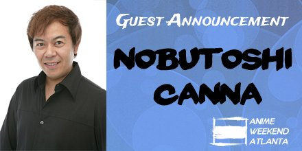 Nobutoshi Canna is making his first North American appearance at #awacon! https://t.co/tdARcYbBcu https://t.co/iNLlUBnpVd