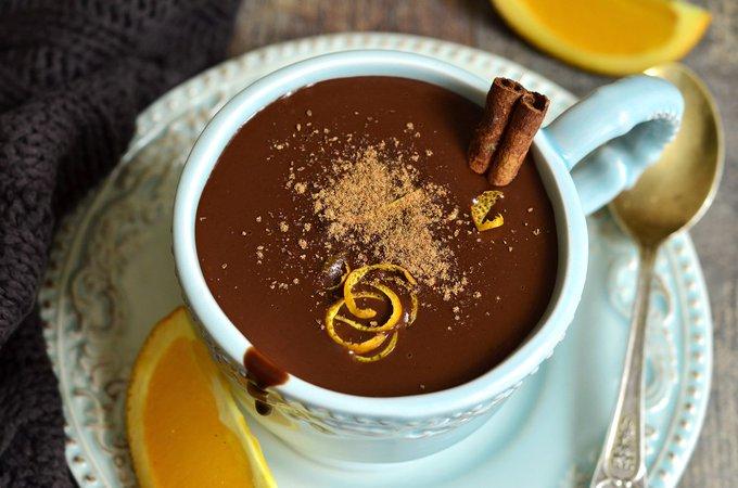 Come fare la cioccolata calda senza amido di mais