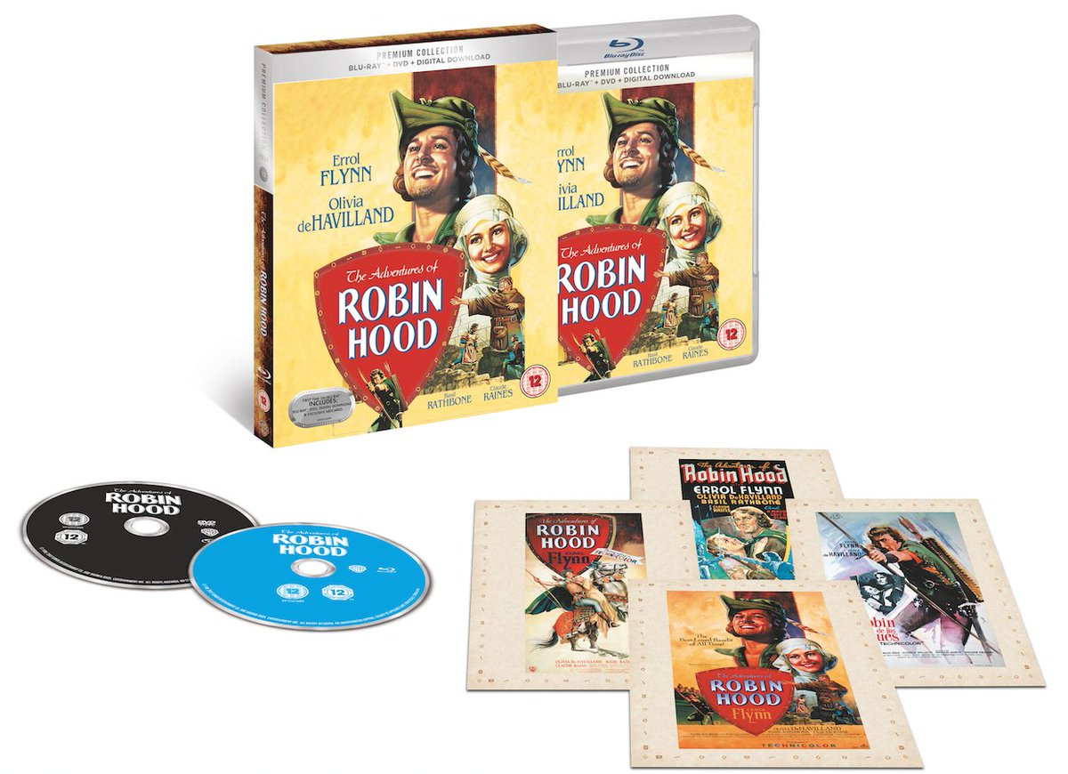 Win! Follow @PrizesEveryDay and RT to win &#39;The Adventures of Robin Hood&#39; on Blu-ray  http:// store.hmv.com/film-tv/blu-ra y/the-adventures-of-robin-hood-(hmv-exclusive) &nbsp; …  <br>http://pic.twitter.com/bzbetc9ieq #arme
