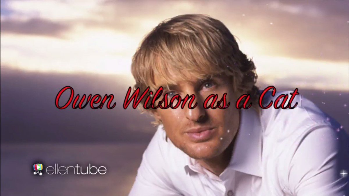 I was as surprised as they were. It's Owen Wilson's birthday!