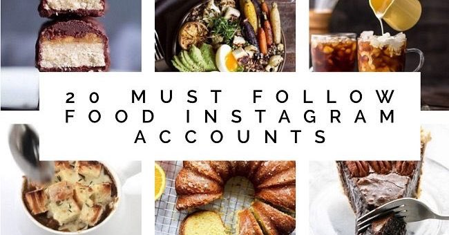 Erica bracken on twitter weve put together the 20 food instagram erica bracken on twitter weve put together the 20 food instagram accounts every food lover should follow get ready to drool forumfinder Gallery