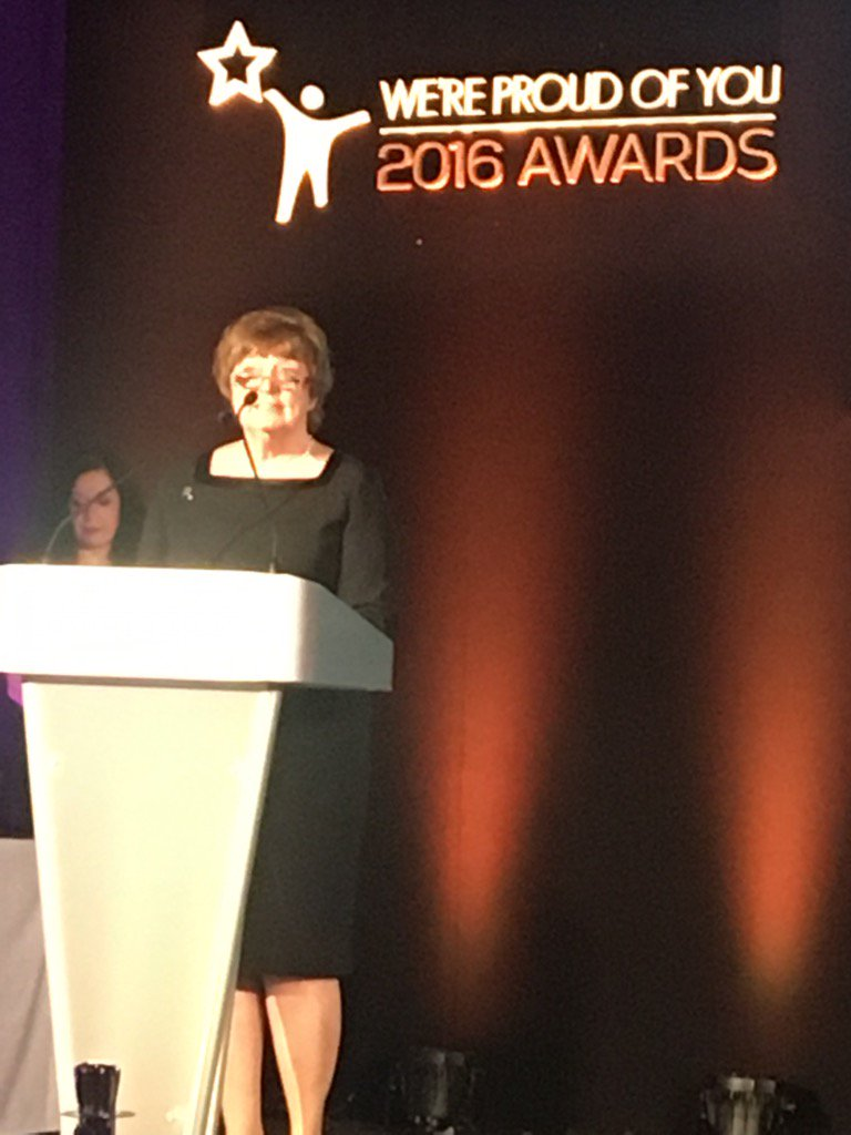 Chairman Kathy Cowell present #proudofyou @CMFTNHS https://t.co/gHuwOa22nd