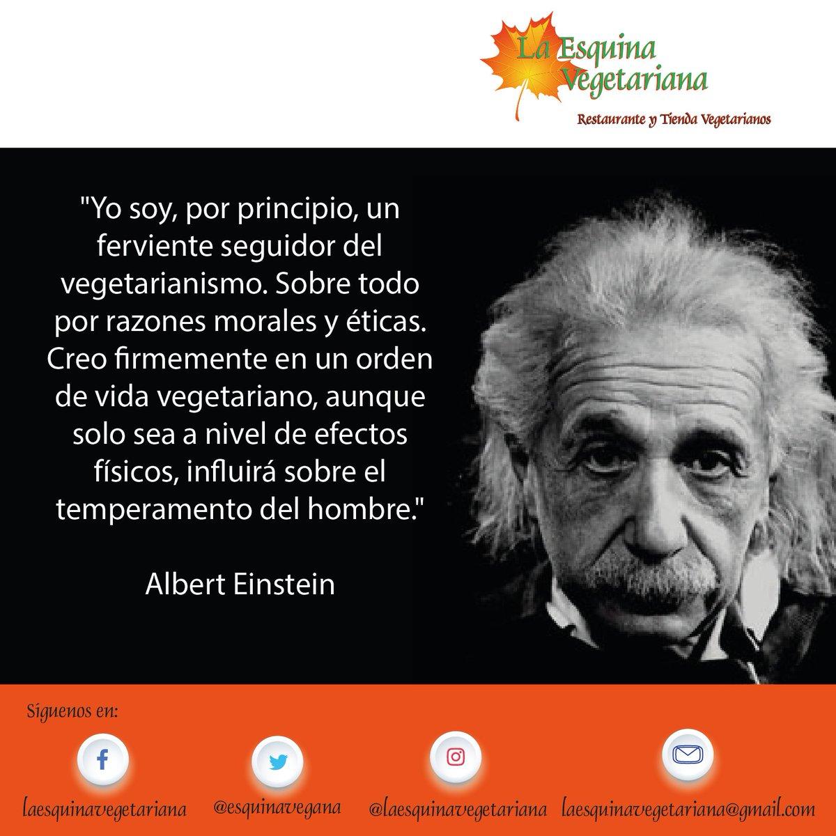 Esquina Vegetariana On Twitter Ilustres Vegetarianos Y Sus