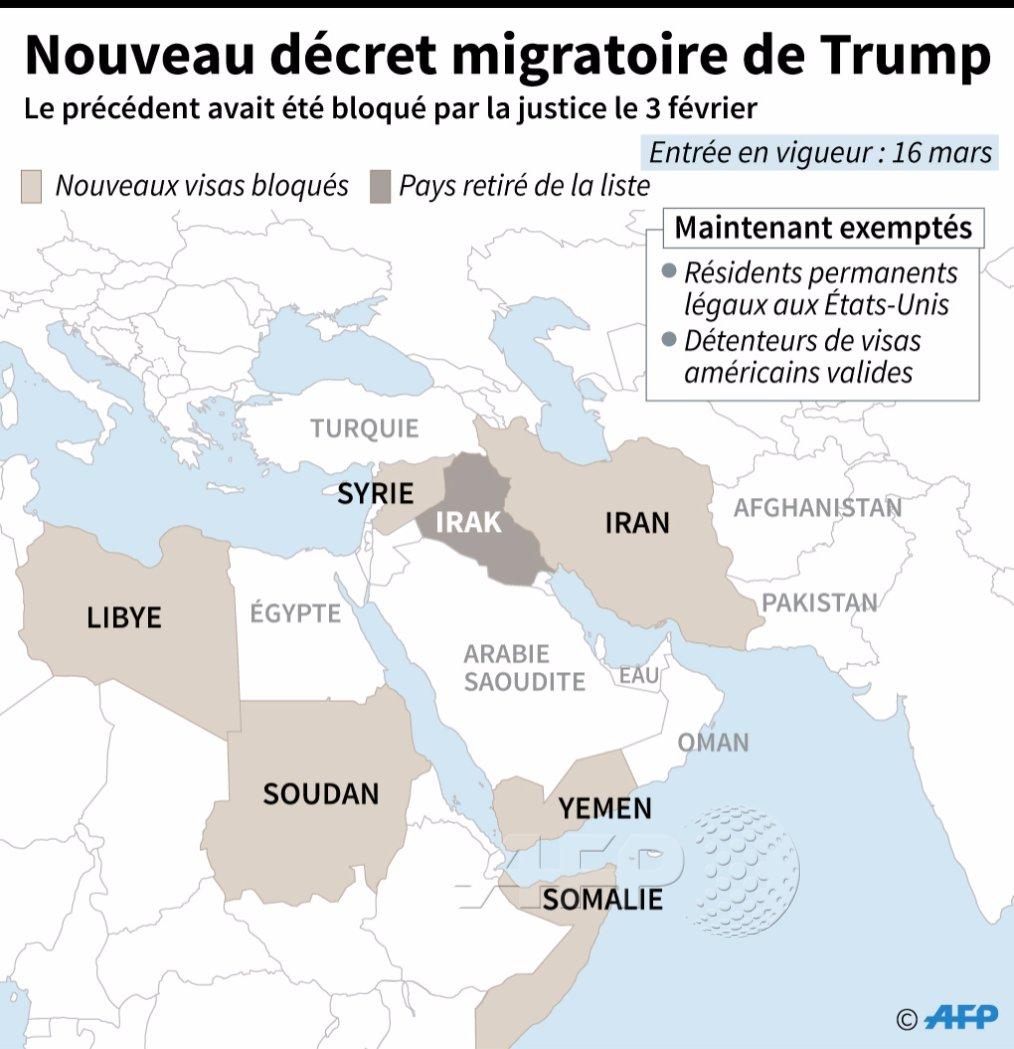 Nouvelle bataille judiciaire sur le décret migratoire de Trump https://t.co/yXOgJUL1QC par @sebastienblanc #AFP https://t.co/VMGK3a6Ozl