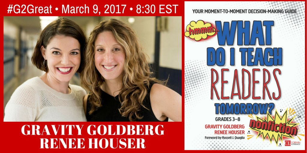 Welcome to #G2Great @brennanamy @DrMaryHoward and I are thrilled to have @drgravityg @ReneeDHouser w/us tonight! https://t.co/EAriBoNVRy