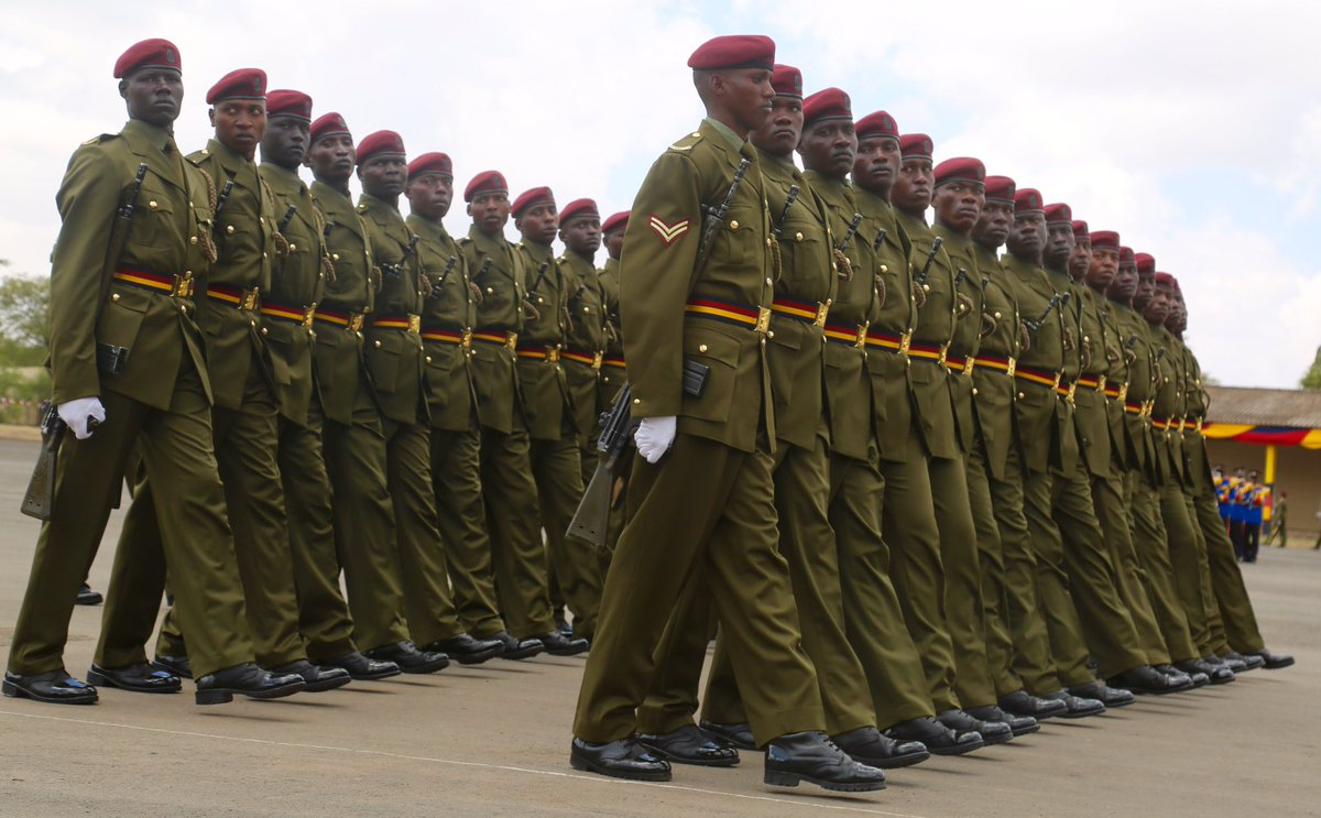 """Kenya Police Service on Twitter: """"Congratulations to GSU recruits for  successful completion of their Initial Training Course at the GSU Training  School. #GSUPassOut… https://t.co/0lvLLTU9ua"""""""
