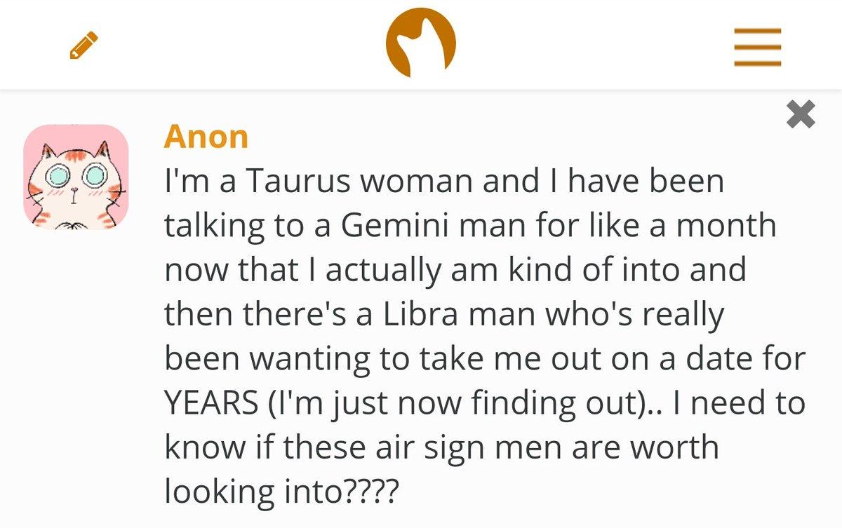Taurus man likes me
