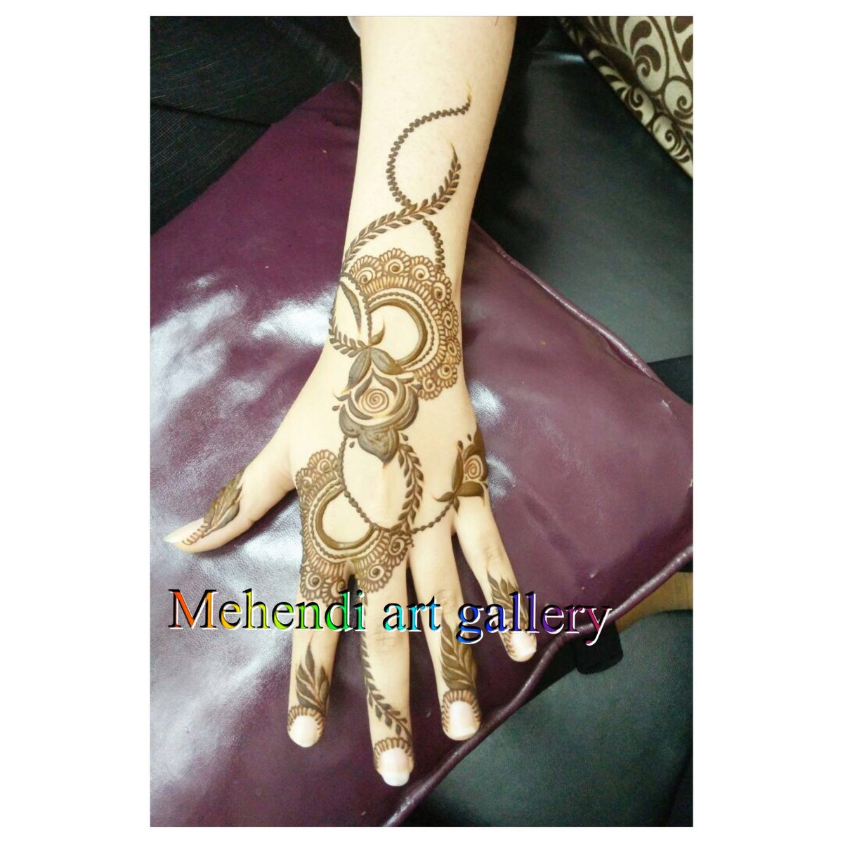 Mehendi Art Gallery On Twitter Henna Mehendi Mahendi Design