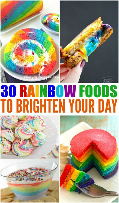 30 Rainbow Foods to Brighten Your Day (Recipes)