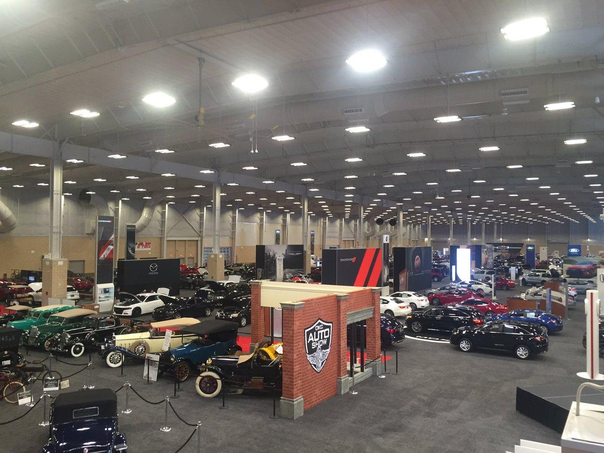 OKC Auto Show On Twitter Scenes From Setup ThOKCAutoShow - Car show okc today