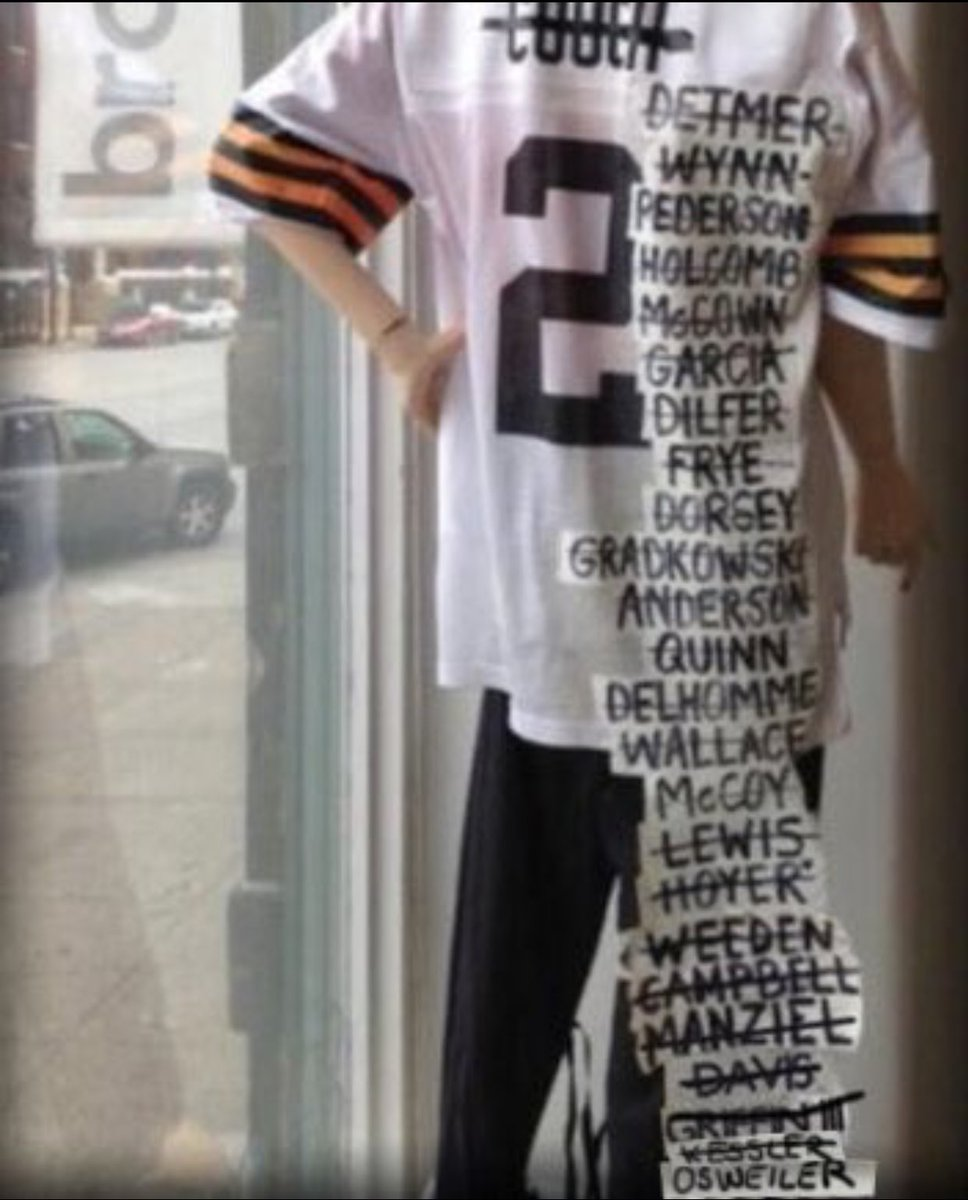 Image result for browns qb jersey 2018