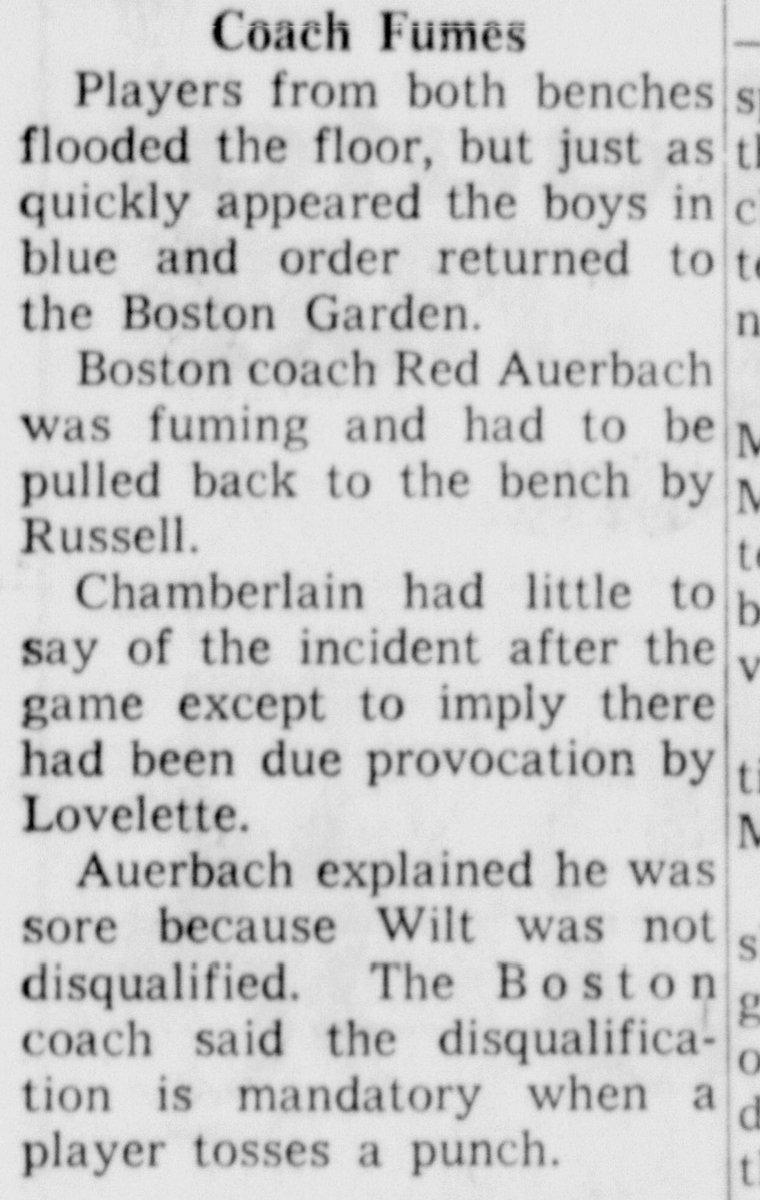 "Chamberlain Archive on Twitter ""1964 Finals Wilt Chamberlain"