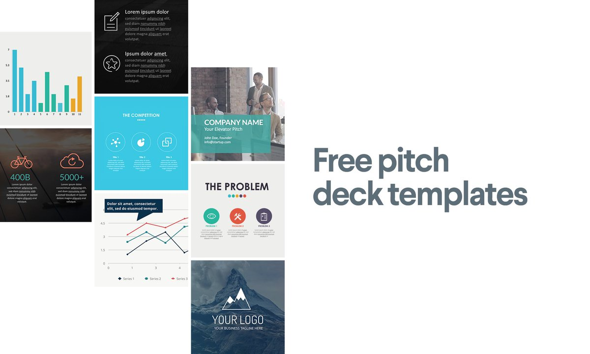 99designs On Twitter Duplikey We Created Free Pitch Deck