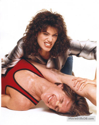 """Happy birthday, Linda Fiorentino! \""""Carla\"""" from \""""Vision Quest\"""" is either 56 or 58 today. ;-)"""