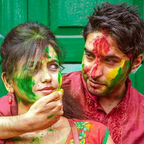 Happy Holi Sweetheart  IMAGES, GIF, ANIMATED GIF, WALLPAPER, STICKER FOR WHATSAPP & FACEBOOK
