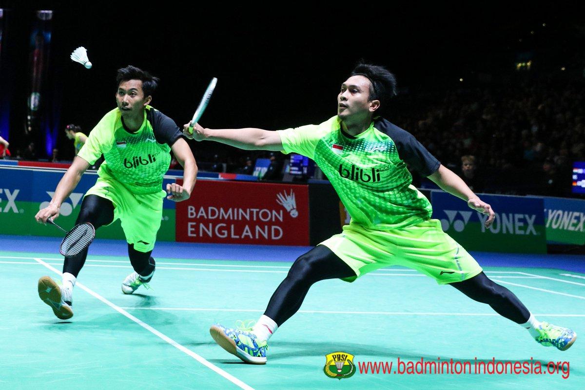 """BADMINTON INDONESIA on Twitter """"Mohammad Ahsan Rian Agung Saputro"""