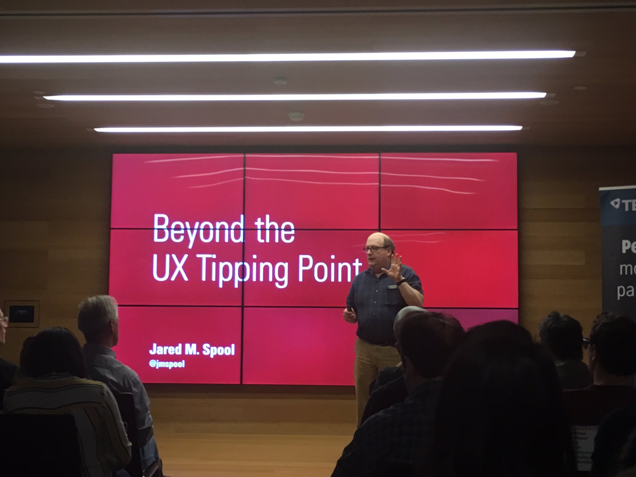 Thumbnail for UXPALA presents An Evening with Jared Spool: Beyond the UX Tipping Point