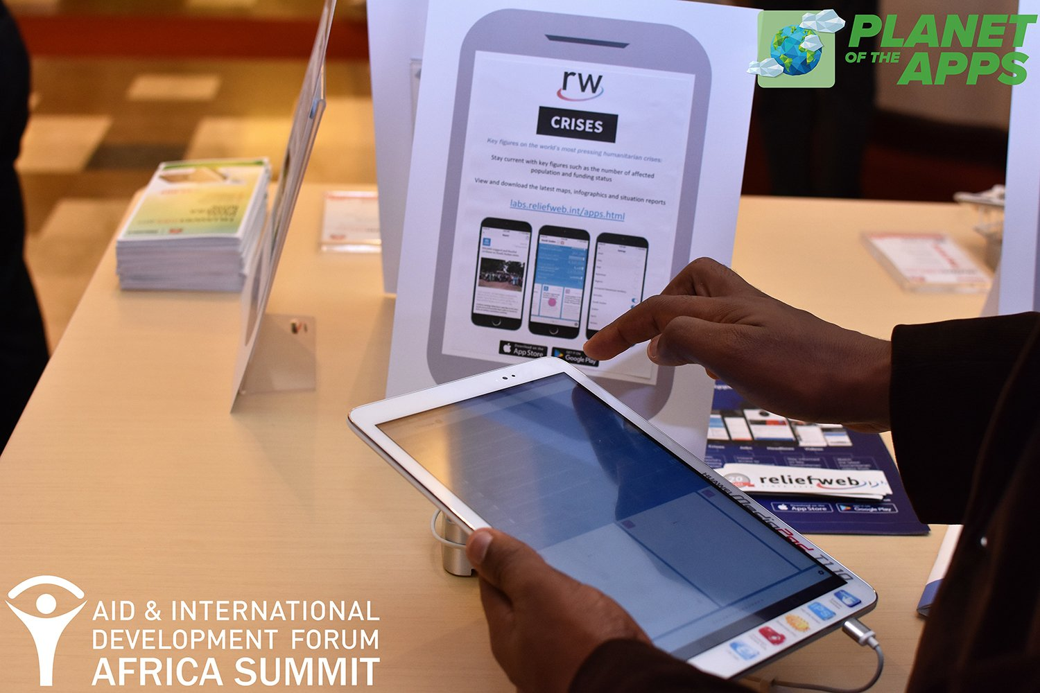 #PlanetoftheApps at #AIDFAfrica Summit 2017 featured @reliefweb @RWLabs #Crisis #App https://t.co/ZMMXPb207G #tech4good #innovation #mobile https://t.co/1mQK1VQ8I1