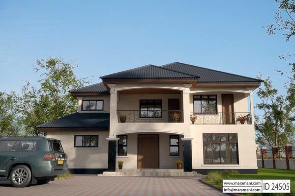 Maramani house plans maramaniplans twitter for 4 bedroom maisonette designs