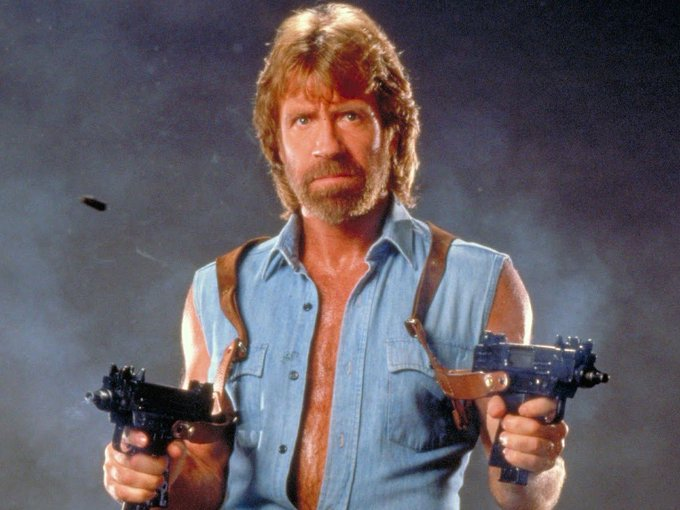 Happy Birthday to Chuck Norris, who turns 77 today!