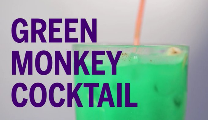 Green Monkey Drink Recipe