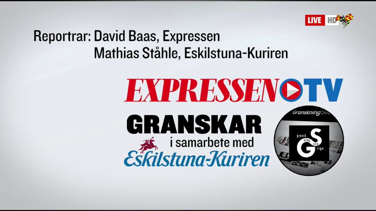Stort tack, @ekuriren , för samarbetet om det viktiga samhällsproblemet med främlingsfientlighet. @Expressen har bevakat detta sedan 1944.