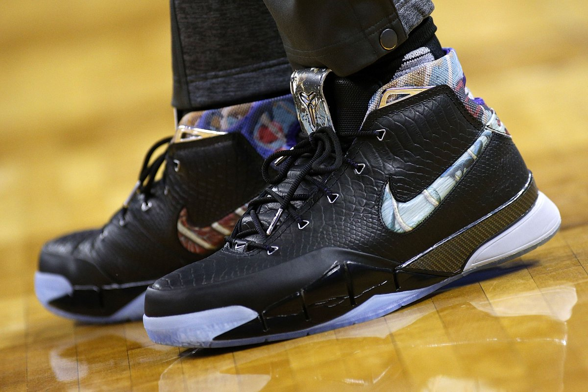 1f8ec93f9482  solewatch   demar derozan wearing the nike kobe 1 prelude and nike kobe 9  elite ftb.