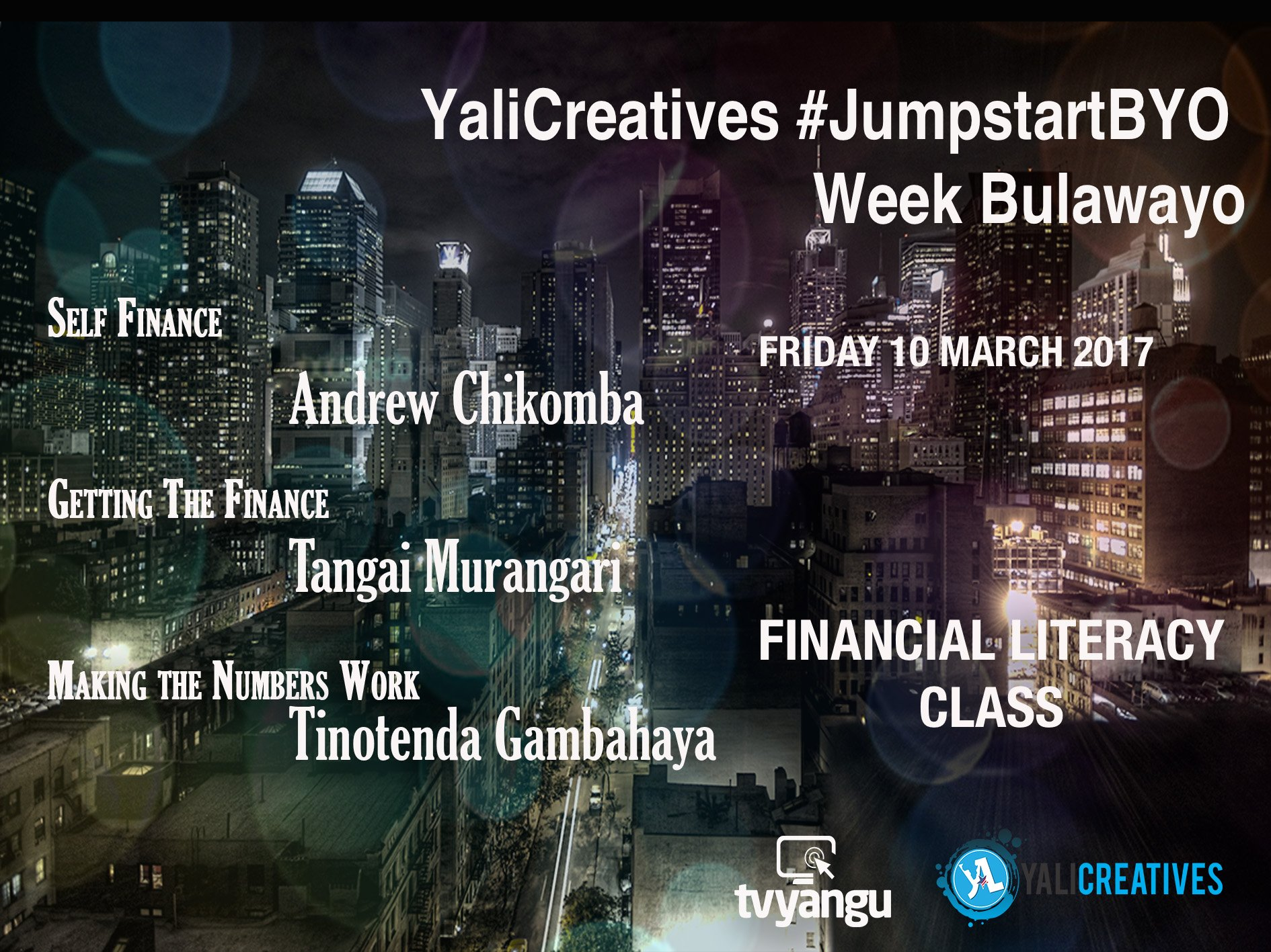 Today is the last day of #Jumpstartbyo @YaliCreatives #financialliteracy DM to be part of the class https://t.co/q4dMiJSxP3