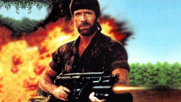 Happy Birthday to Chuck Norris today
