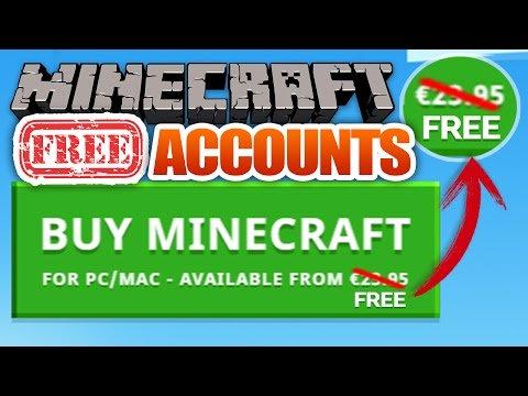 minecraft accounts free