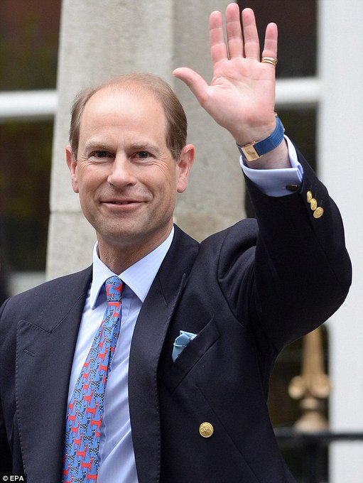 Many happy returns to HRH Prince Edward who celebrates his 53rd birthday today!
