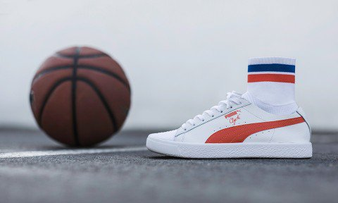 PUMA takes style cues from basketball legend Walt Frazier with the Clyde  Sock NYC . da5048044