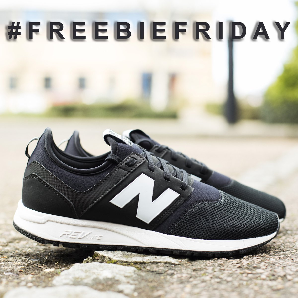 be1d0ea0b #FreebieFriday FOLLOW & RT for a chance to win this pair of New Balance 247  trainers http://ow.ly/qNUa309KbZu .