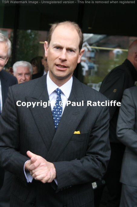 Happy 53rd Birthday to HRH Prince Edward, The Earl of Wessex. Photograph (C)