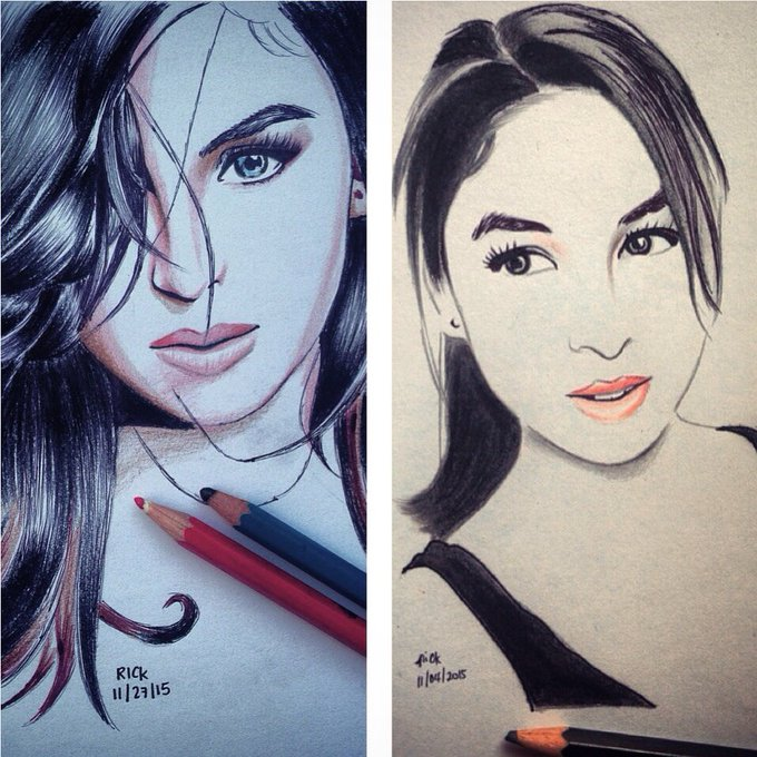 Happy Birthday to Julia Barretto 1 of the muses I love to draw! JuliaBarrettoPH