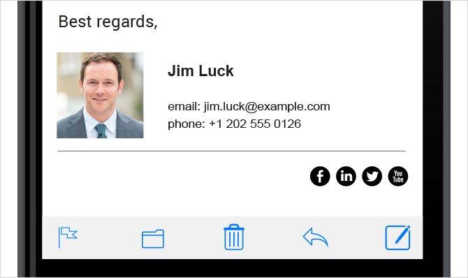 perfect email signature