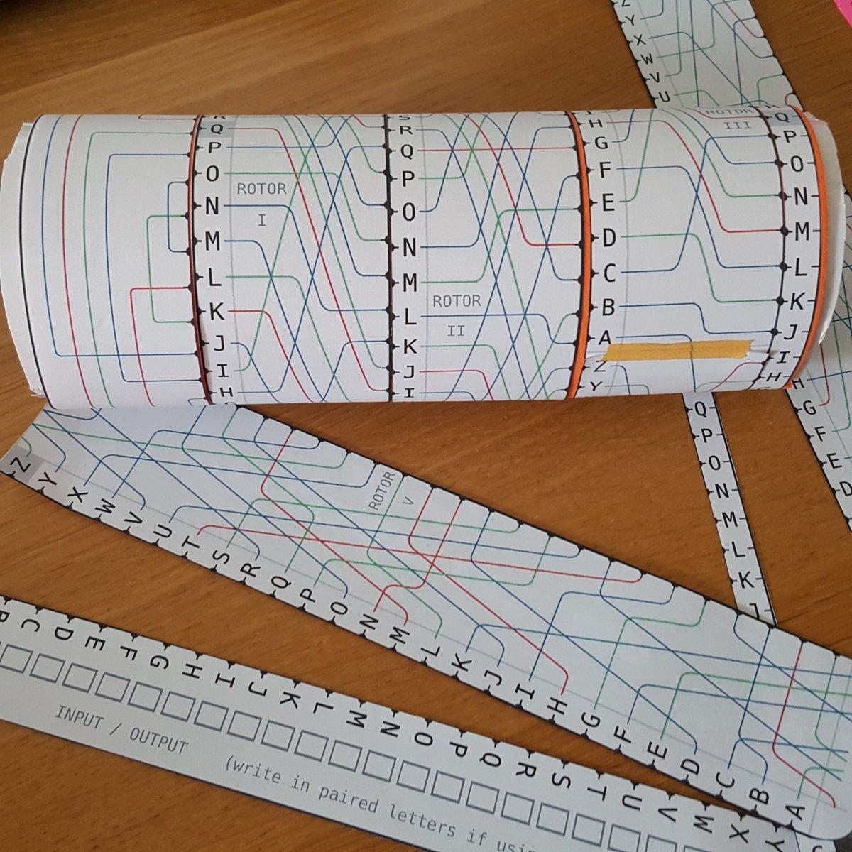 Une machine Enigma en version papier pour découvrir la #cryptographie avec vos #enfants.   http:// wiki.franklinheath.co.uk/index.php/Enig ma/Paper_Enigma &nbsp; …  (en anglais)<br>http://pic.twitter.com/URGsrn0roP