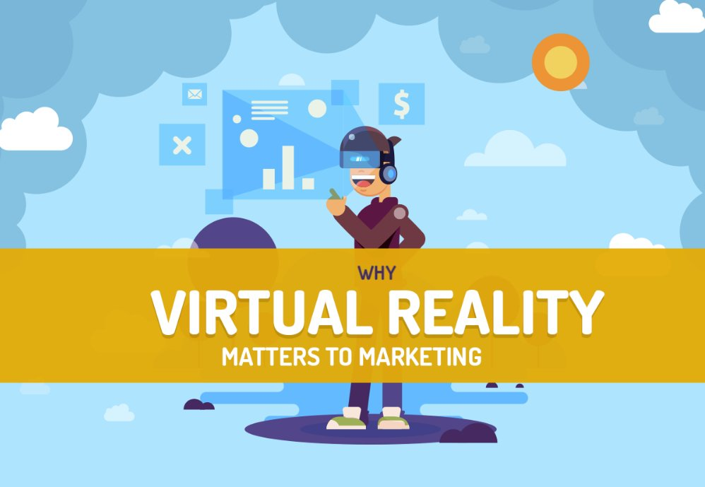 Why Virtual Reality Matters to Marketing [Infographic]