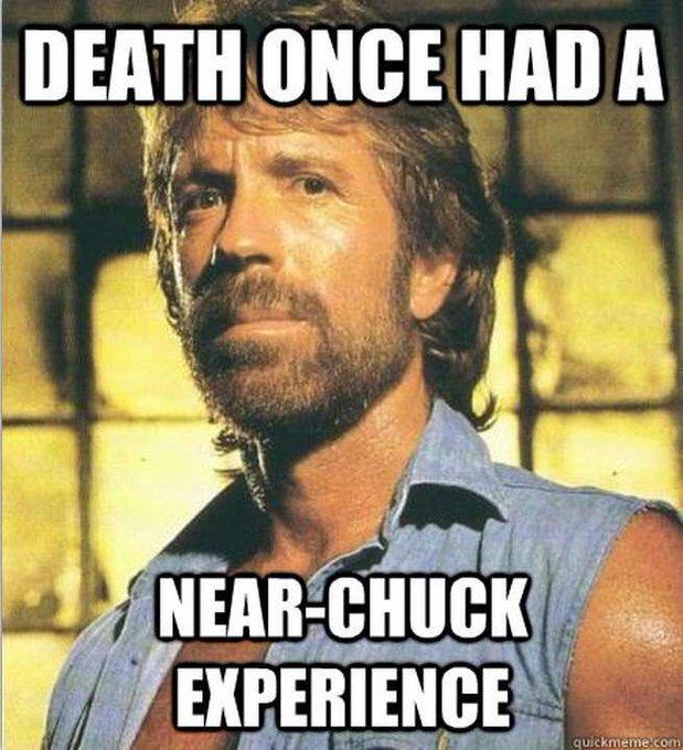 Happy birthday to Chuck Norris!